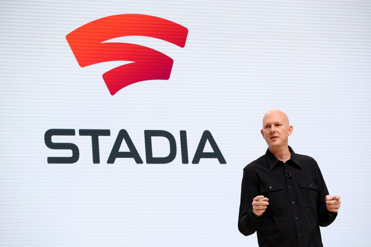 Google Phil Harrison Introducing Stadia