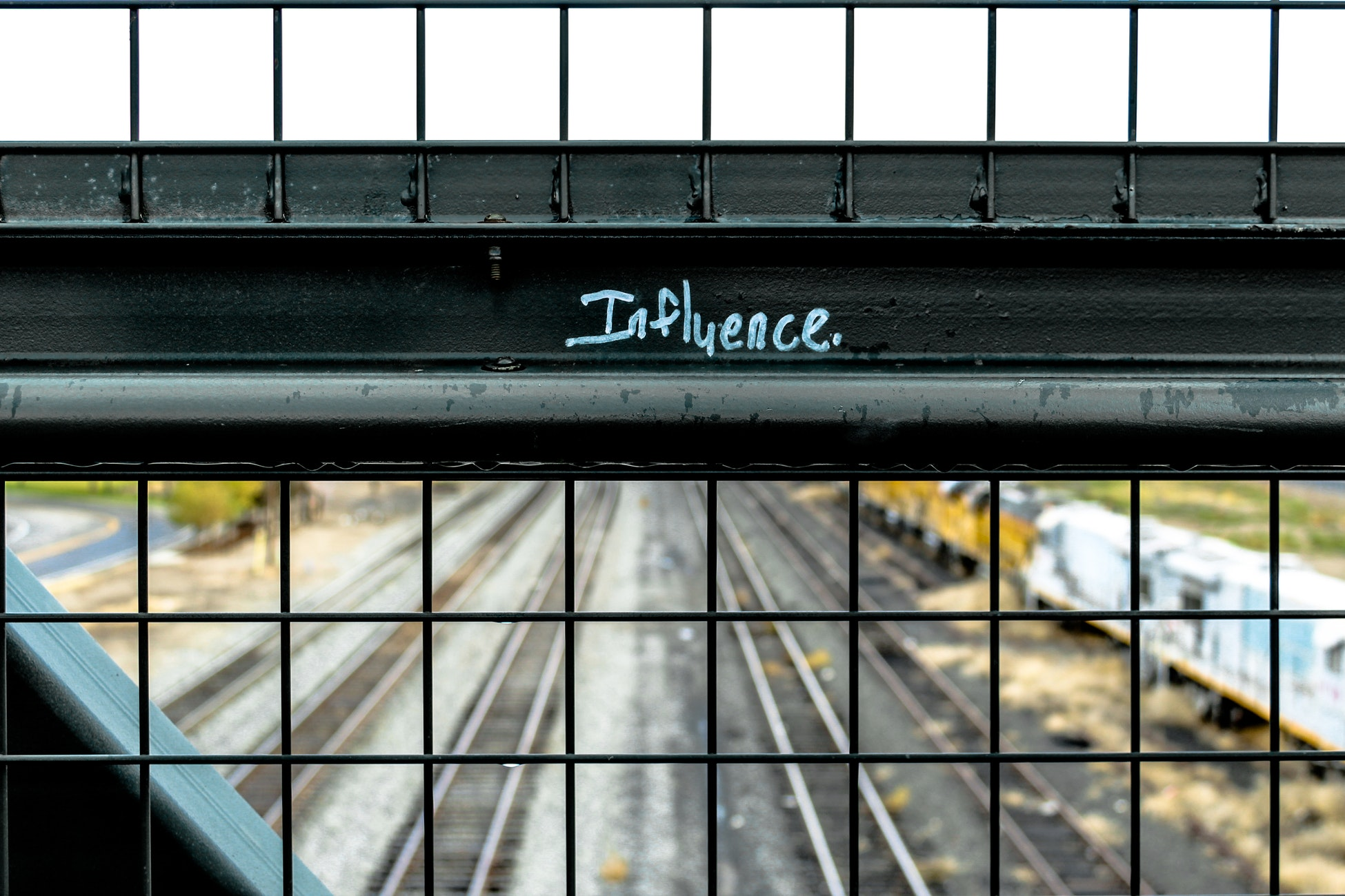 influence, train rails, use influencers in your marketing strategy